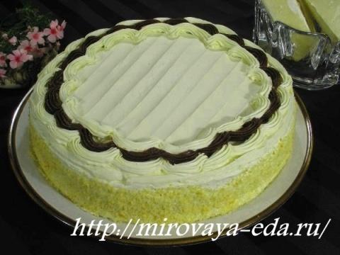 Tort medovyy «Babushkin sekret»